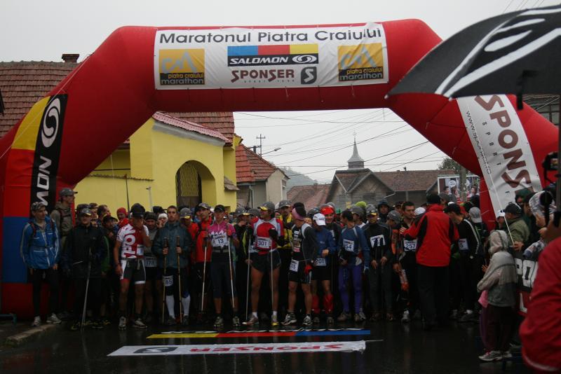 Start Maraton Piatra Craiului 2009