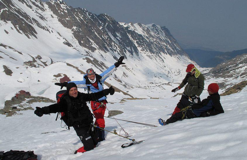Şcoala de munte Everest 2009 – etapa de iarnă