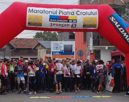 Maraton Piatra Craiului 2010 - La start (foto Daniel Florea)