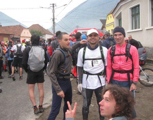 Cu Csaba, Aron și Imre la start